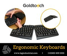 We are selling Ergonomic Keyboards and other computer peripherals from GOLDTOUCH! You can now be more comfortable in working at home or office with these state-of-the-art technology products. Contact us for orders! -- #goldtouch #comfort #technology #computer #ergonomic #office #home