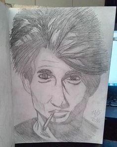 #illustration #ilustração #sketch #sketchbook #draw #drawing #desenho #man
