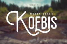 Koebis Typeface Free Font on Behance