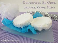 Congestion Be Gone Shower Vapor Discs