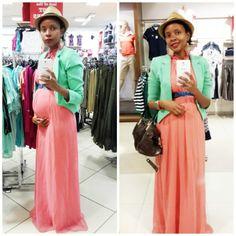 I love pink & green!