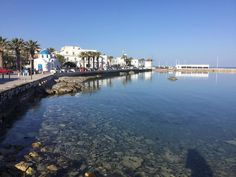 Paros, the port