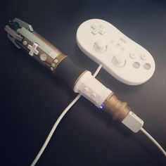 Dr Who Sonic Wii controller!/// WAIT WHAT I think this would make me actually use my wii Dr Who, Zombie Tsunami, Sonic Screwdriver, Nerd Love, Wii Controller, Torchwood, Geek Out, Superwholock, Tardis