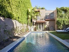 Lauren Conrad's house from the Hills. View from the beautiful backyard.