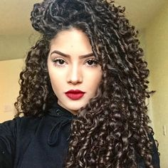 Curly Afro Hair, Curly Hair Tips, Curly Hair Care, Long Curly Hair, Curly Girl, Curly Hair Styles, Natural Hair Styles, Natural Curls, Permed Hairstyles