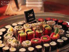 Pirata Fish free Sushi wird 1 Fisher, Sushi, Free, Ethnic Recipes, Vegans, Vegane Rezepte, Food Food, Sushi Rolls