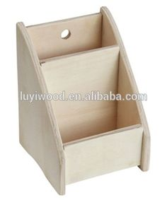 cheap material wooden storage box for office desk hot sale