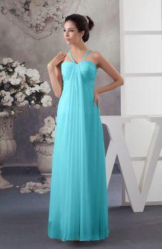 Turquoise Informal A-line Spaghetti Sleeveless Floor Length Ruching Plus  Size Bridesmaid Dresses Turquoise Bridesmaid d64042086edc