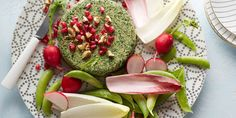 Vegetarian Spinach-Walnut Pate recipe from Food Network Kitchen via Food Network Vegetarian Pate, Best Vegetarian Recipes, Vegetarian Meals, Pate Recipes, Cooking Recipes, Food Network Recipes, Food Processor Recipes, Healthy Holiday Recipes, Healthy Food