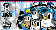 Graffiti ice penguin 'DITTO' Extreme brand character graphic illust design. Designed by DOLDOL.  www.graphicer.com.  #Snowboard #skateboard #sk8 #longboard #surf #hiphop #bike #graphicer #mtb  #스노우보드 #롱보드 #그래피커 #디또 #캐릭터 #헬멧 #그래피티 #character #돌돌디자인 #일러스트 #penguin #stickers #인스타그램 #graffiti #펭귄 #illustration #헬멧스티커 #아이스크림 #스노우보드스티커 #icecream #iceland