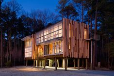 Loblolly House | Prefabricated Architecture Integrated with Nature - Kieran Timberlake
