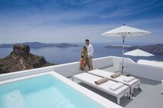 Honeymooning in Grace Santorini.