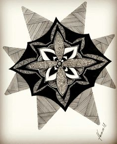 #art #vintage #retro #design #vector #print #pattern #decoration #graphic #star #abstract #nature #lovedrawing #drawing #fabercastell #doodles #rabiscos #mandala #amodesenhar #draw # #rabiacosbyme @rabiacosbyme