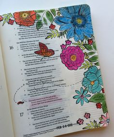 """Bible art journaling - by Lynda Neal - """"You make known to me the path of life; in your presence there is fullness of joy..."""" (Psa. 16:11). #illustratedfaith"""