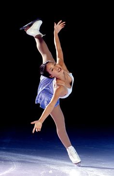 Michelle Kwan..the most decorated figure skater in U.S. history