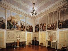 View of the Room of the Ark  1816  Fresco  Galleria Palatina (Palazzo Pitti), Florence