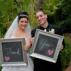 Ten great ideas for using chalkboards in a wedding. (Image via Revived Vintage)