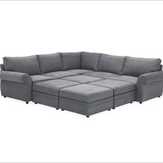 Modern Sectional Sofas PEARCE UPHOLSTERED PIECE FAMILY SECTIONAL
