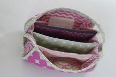 Coole Tasche für Kleinkram, konzipiert extra für Nähzubehör, Nähtasche nähen I Tutorial Sew together Bag, Fächertasche,