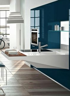 Spectacular Practical Ultra Modern Small Kitchen Design : Spectacular Practical Ultra Modern Small Kitchen Design Picture