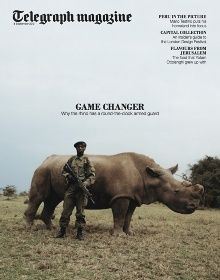 cover story: David Chancellor photographs 'Game Changer' for Telegraph Magazine