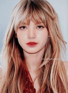 Fanmade South Korean Girls, Korean Girl Groups, White Marshmallows, Black Pink Kpop, Hair Styles 2016, Winter Hairstyles, Girl Bands, Blackpink Lisa, Kim Jennie