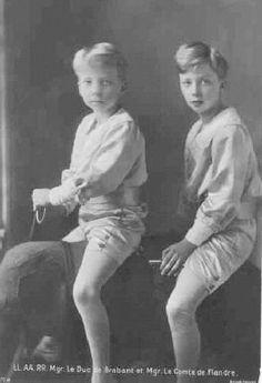 Princes Leopold and Charles of Belgium (1912) by Karl'sfriend, via Flickr