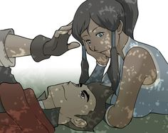 The Legend of Korra: Mako and Korra...