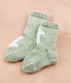 Duplicate Stitch Wee Socks http://www.lionbrand.com/patterns/L10122D.html?noImages=