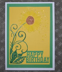 Embossed card with copic coloring and beads and gel pens.