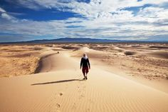Trek dans le désert de Gobi en Mongolie - http://www.absolu-voyages.com/mongolie.htm