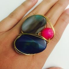 Handmade Statement Rings Handmade statement rings. Unused and in great condition! Accessories