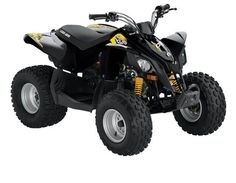 RECALLED - Youth ATV.  Crash Hazzard.  Can Am DS 70 & Can Am DS 90 (Black)