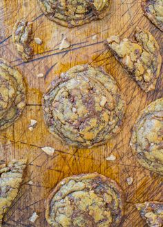 Soft and Chewy Toffee and Milk Chocolate Peanut Butter Cookies (gluten-free)
