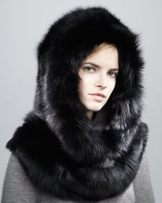 Winter Chic, Winter Hats, Fox Fur Coat, Fur Coats, Capes & Ponchos, Fur Bag, Fur Accessories, Animal Costumes, Fur Babies