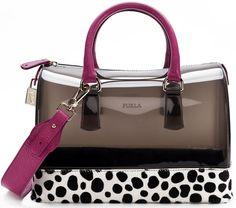 High Quality PU Patent Leather Handbags For Ladies Furla Candy Bag, Furla Bag, Candy Bags, Bolsas Furla, Tote Handbags, Purses And Handbags, Popular Handbags, Patent Leather Handbags, Cute Purses