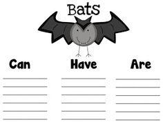Fun in First Grade: Informative Writing and Bat Freebies