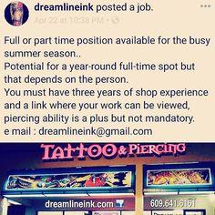 Dreamline Ink | Tattoo & Piercing