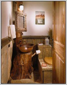 45 Small Bathroom Ideas For Your Rv Decoration Life Styles Outhouse Bathroom Decor, Bathroom Wall Decor, Bathroom Signs, Bathroom Curtains, Bathroom Styling, Bathroom Ideas, Small Country Bathrooms, Tiny Bathrooms, Rustic Bathrooms