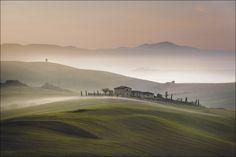 Wohin der Nebel fließt... von Bobanac Andreas
