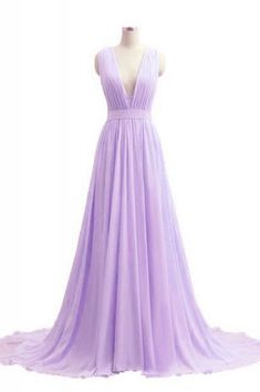Sparkly Prom Dress, v neck lavender long chiffon prom dresses evening dresses , These 2020 prom dresses include everything from sophisticated long prom gowns to short party dresses for prom. Grad Dresses Long, Elegant Prom Dresses, Cheap Prom Dresses, Prom Party Dresses, Pretty Dresses, Homecoming Dresses, Evening Dresses, Dresses Dresses, Dress Prom