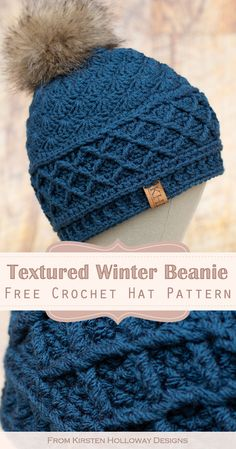 Crochet Adult Hat, Knit Or Crochet, Crochet Scarves, Crochet Crafts, Crochet Baby, Crochet Projects, Free Crochet, Crochet Blanket Patterns, Knitting Patterns