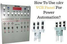 How To Use 11kv #Vcb #Panel For Power Automation?