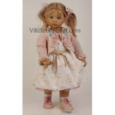 SCHILDKRÖT POUPEE ANNA-MARIA - poupée d'artiste de Brigitte Paetsch