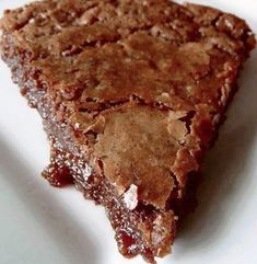 You'll Need: 1 stick butter, softened 1 c sugar 2 eggs 1 tsp vanilla 3 Tbsp cocoa powder 1 tsp salt 1/2 c all purpose flour How to make it: Preheat oven to 350 degrees. Cream together butter and sugar with electric mixer until fluffy,