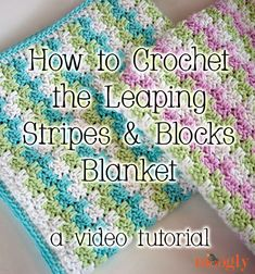 LEAPING STRIPES & BLOCKS BLANKET TUTORIAL Tutorial skill level: Easy Tutorial by: Moogly