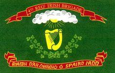 28th Massachusetts Green Regimental Flag