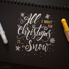 ALL I WANT For Christmas is ..... ;)