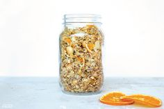 Orange, Macadamia & Coconut Granola - Move Nourish Believe