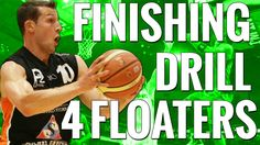 Basketball Finishing Drills To Improve Your Floater | How To Shoot A Foater